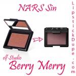 **พร้อมส่งค่ะ + ซื้อ 1 แถม 1 (คละสีได้) **e.l.f. Studio Blush - Berry Merry NO.35