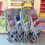 รถเข็นเด็ก See Baby รุ่น QQ2 สีใหม่ รุ่นประหยัด น้ำหนักเบา ราคาถูก แข็งแรงมาก รับน้ำหนักได้ถึง 30 kg