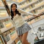 เสื้อคลุมเวอร์ชั่นเกาหลี : เสื้อคลุมเวตเตอร์ถักลูกไม้สีขาว ตัวสั้นมีฮู้ดน่ารัก ปักฉลุลายดอกไม้ทั้งตัว มาพร้อมกระเป๋าทั้ง 2 ข้าง สวยน่ารักมากๆค่ะ