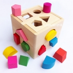 กล่องบล็อกหยอด รูปทรง 4 ด้าน Intellinence Box