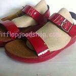รองเท้า Fitflop  New สวม รัดส้น สีแดง No.FF435