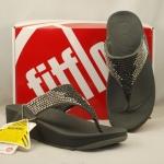 รองเท้า Fitflob Flare  เพชรกระจาย 2 สี สีเทา No.FF021