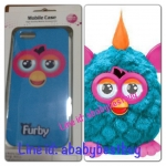 ZFB025 Furby Case iPhone5 Bermuda ฟ้าหูชมพู