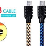 Remax033 Cable Charger Micro USB คละสี