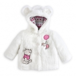 Z Winnie the Pooh and Piglet Faux Fur Coat for Baby (12-18month)