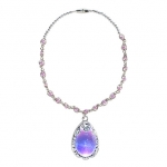Sofia the First Amulet Light-Up Necklace for Girls