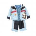 เสื้อชุดกันหนาว ลายหมีสีฟ้า 12-24 เดือน