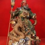 กวนอูเยียบมังกร งานเจียะอวง สุดยอดงานของศิลปะจีน