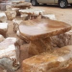 โต๊ะหิน ธรรมชาติ
