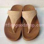 รองเท้า Fitflob Limited รุ่นใหม่ กากเพชรสีทอง No.FF331