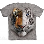 The Mountain Big Face Split Tiger T-Shirt