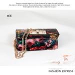 กระเป๋าคลัทช์ กระเป๋าแฟชั่นเกาหลี กระเป๋าแฟชั่นพิมพ์ลายดอกไม้-ผลไม้ แฟชั่นกระเป๋าสไตล์เกาหลี