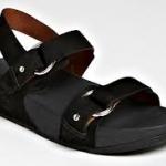 รองเท้า Fitflob Via Bar Black สีดำ No.FF131