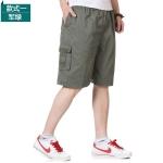 Pre-order กางเกงขาสั้น กางเกงลำลองฤดูร้อน แฟชั่นกางเกงขาสั้นสำหรับหนุ่ม ๆ สีเขียว