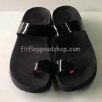 รองเท้า Fitflob New หูหนีบ นิ้วโป้ง สวม สีำดำ No.FF371
