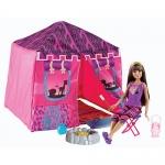 z Barbie Safari Tent and Doll ของแท้100% นำเข้าจากอเมริกา