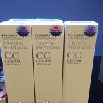 Beauskin Crystal Whitening CC Cream บิวสกิน คริสตัล ไวท์เทนนิ่ง ซีซี ครีม ราคาถูก ขายส่ง ของแท้
