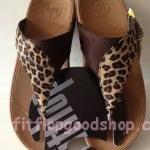 รองเท้า Fitflob New หูหนีบ ลายเสือ No.FF391