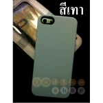 พร้อมส่ง* เคส iphone 5/5s สวยๆ สีเทา (ส่ง ฟรี EMS)