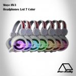 Woye HV3 Headphones Led 7 Color