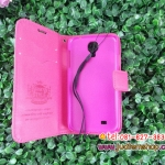พร้อมส่งเคสซัมซุง S4 หนังสีชมพู
