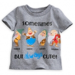 z Seven Dwarfs Tee for Baby