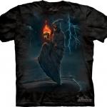 Pre.เสื้อยืดพิมพ์ลาย3D The Mountain T-shirt : Deathball