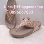 รองเท้า Fitflob New หูหนีบ สีครีม No.FF308