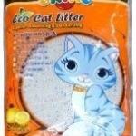 ทรายแมว okiko รุ่นประหยัด กลิ่นแอปเปิ้ลและส้ม 5 litre
