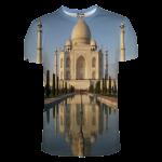 เสื้อยืดพิมพ์ลาย MR.GUGU & Miss GO : Taj Mahal T-Shirt