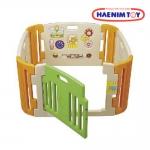 รั้วกั้นเด็ก คอกกั้นเด็ก ราคาถูก Haenim ของแท้ ทำในเกาหลี made in korea ไม่มีสารพิษ ขนาด 116*116 cm มีประตู ใช้เป็น บ่อบอลได้ มีของเล่นครบ มี มอก เเล้ว EN71