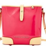 Pre-Order กระเป๋าหนังแก้วสีบานเย็น Dooney & Bourke Claremont' Crossbody Bucket Bag กระเป๋าถือใบเล็ก กระเป๋าแฟชั่นผู้หญิงทำงาน