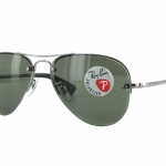RB3449 004/9A | Ray-Ban Rimless Aviator Polarized