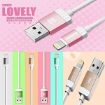 Remax028 Cable Charger iPhone 5/6 คละสี