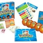 Brainetics (เทคนิคเสริมระบบการคำนวณและความจำ) ทั้งหมด8 แผ่น รวมชุด 240 บาท