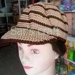 หมวก cap หมวกถักโครเชต์