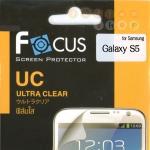 พร้อมส่ง  ฟิล์มกันรอยโฟกัส Focus ซัมซุง S 5  แบบใส ส่งฟรี EMS