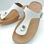รองเท้า Fitflob New หูหนีบ เข็มขัด รุ่นใหม่ สีขาว No.FF181