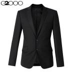 Pre-Order G2000 เสื้อสูท สูทเบลเซอร์ แขนยาว ผ้าโพลีเอสเตอร์ สูทแฟชั่น สูทเข้ารูป สีดำ สำเนา