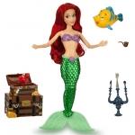 ฮ Ariel Deluxe Talking Doll Set - 11''