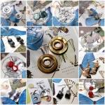 ต่างหูหินสี แบบเบสิค เริ่มต้น 45 บาท // Basic Semi-Precious Stones Earrings