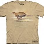 Pre.เสื้อยืดพิมพ์ลาย3D The Mountain T-shirt : Running Cheetah MD
