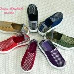 รองเท้าเพื่อสุขภาพ Elastic Shoes 7058 ผสมผสานระหว่างรองเท้าลำลองกับรองเท้าผ้าใบ พื้นยางทรงสปอร์ต