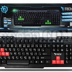 G-TECH USB Multi Keyboard GTX-8 (Red/Black)