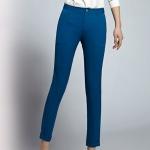Pre-Order กางเกงทำงานผู้หญิง กางเกงสแล็ค ทรงดินสอ สีฟ้า