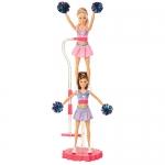 z Barbie I Can Be Cheerleader Doll Giftset ของแท้100% นำเข้าจากอเมริกา ตุ๊กตาบาร์บี้ เชียร์ลีดเดอร์เซ็ต