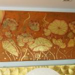 ภาพดอกบัวทอง 1x1เมตร