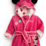 เสื้อคลุมอาบน้ำ เสื้อคลุมว่ายน้ำ Minnie