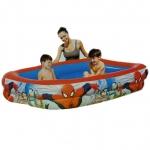( Spiderman Pool ) สระว่ายน้ำเป่าลม สไปเดอร์แมน (2 เมตร) ลิขสิทธิ์แท้ 79x59x20 นิ้ว BW-98011B