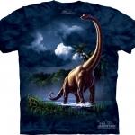 Pre.เสื้อยืดพิมพ์ลาย3D The Mountain T-shirt : Brachiosaurus